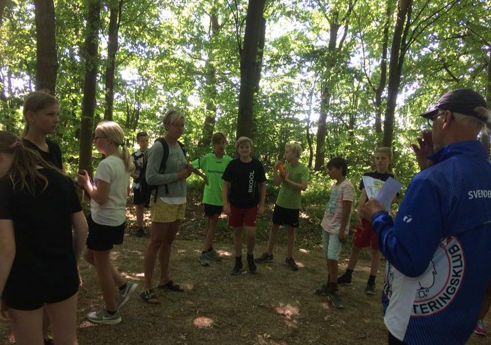 Skoleidrættens Forårsfestival i skoven