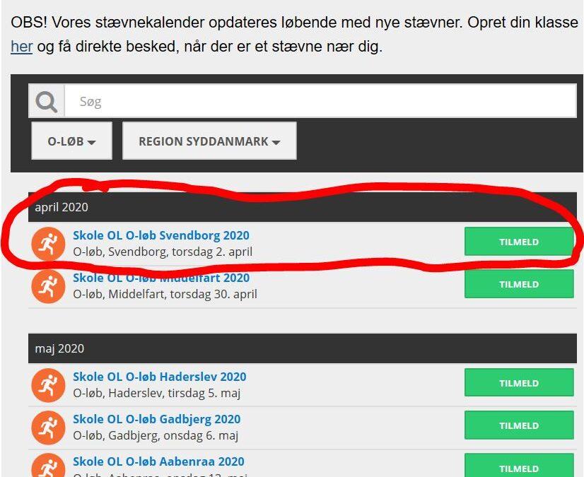 Svendborg OK afholder OL