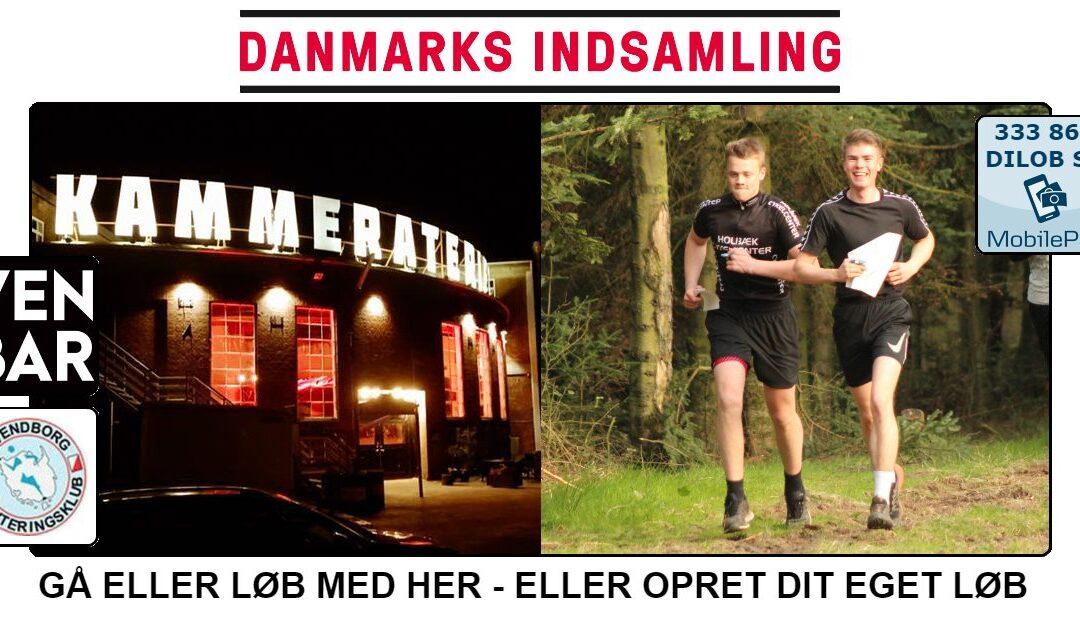 Sådan kommer du med til DanmarksIndsamling-løbet på tirsdag