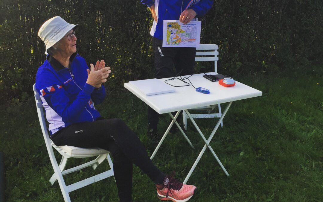 Carlsberg Camping træningen er på O-track