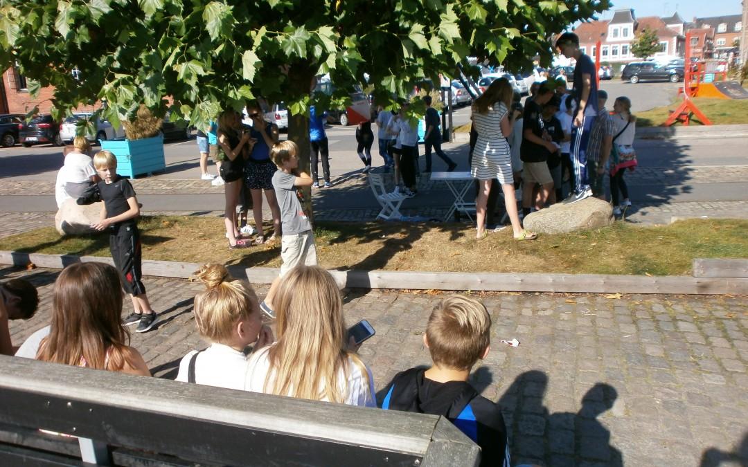 Fotoorienteringsløb med 140 elever