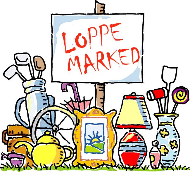 Loppemarked på Øksenbjergvej 13. august kl. 10 -14