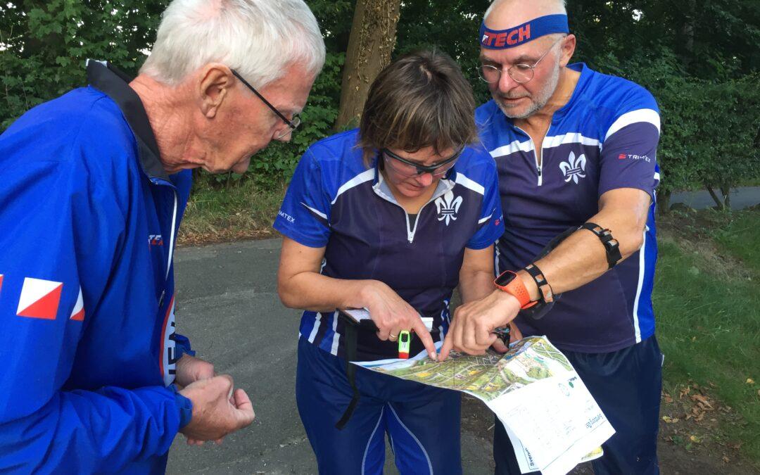 Vejvisning til træning 7.september på Carlsberg Camping